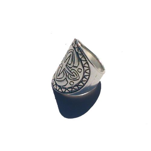 Boho Ring Groot 5 / bijoux / bohemian / betaalbaar