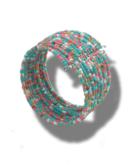 Klemarmband Multi / bijoux / zomer / meerkleurig