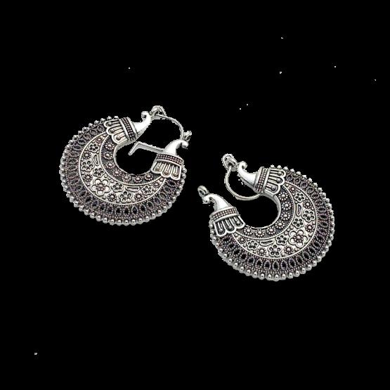 Xigaze Oorbellen / bijoux / boho - bohemian / zilver