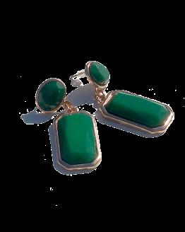 Alice Oorbellen / budgetline / bijoux / groen