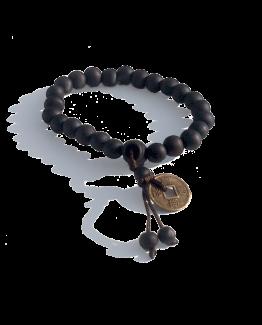 Houten Armband Tibet / bijoux / hout / bruin