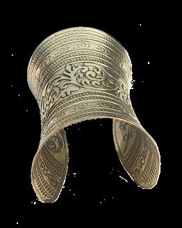 Cuff Armband Mumbai / Bijoux/ groot / koperkleur