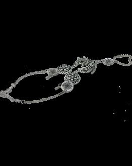 Enkelbandje Kathmandu / bijoux / zilver