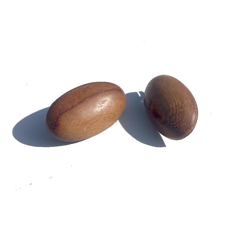 Manouk t111-2 Oak Oorbellen / bijoux / manouk / hout / bruin