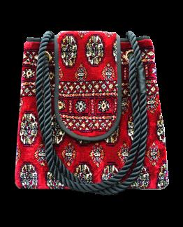 m2-248-18 / Torba plus / made of carpet / tapijt tas