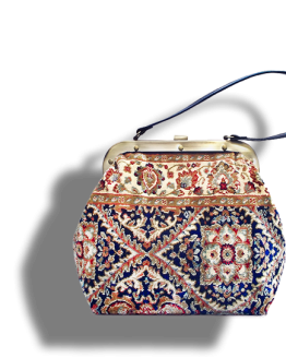 m3_566-19 / HEIRLOOM / made of carpet / tapijt tas