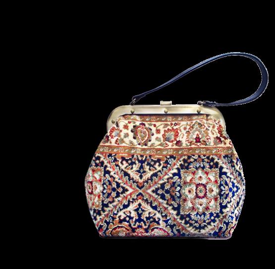 m3_566-19 / HEIRLOOM / made of carpet / tapijt tas