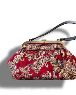 m4_287-18 / EXQUISITE / made of carpet / tapijt tas