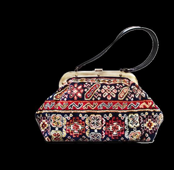 m4_436-19 / EXQUISITE / made of carpet / tapijt tas