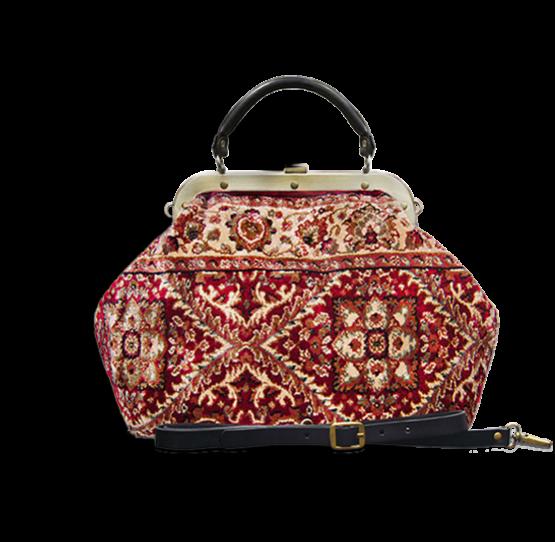 m6-566-18 m6_566-19 / ESCULAP / made of carpet / tapijt tas