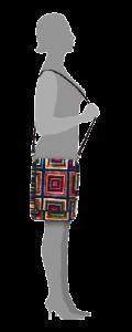 m6-599-19_figure / messenger / carpet bags / tapijt tas / boho