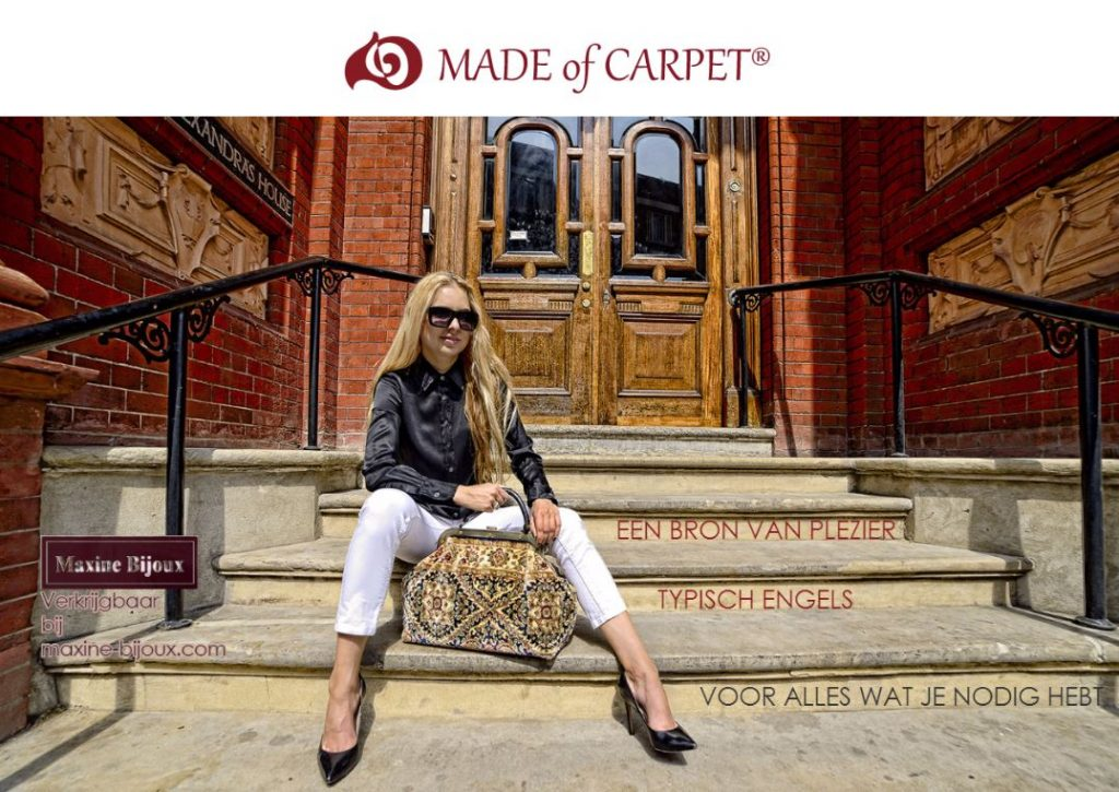 catalogus_nl / made of carpet / tapijt tas