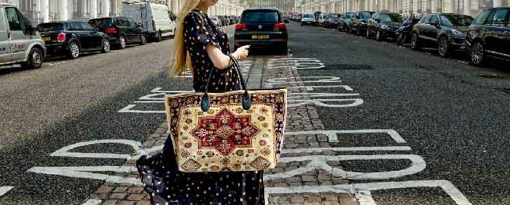 Made of Carpet / tapijt tas / accessoires
