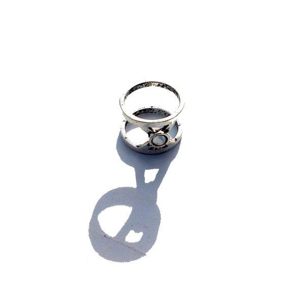 Boho Ring 2016 / versie 6 / bijoux / bohemian / zilver
