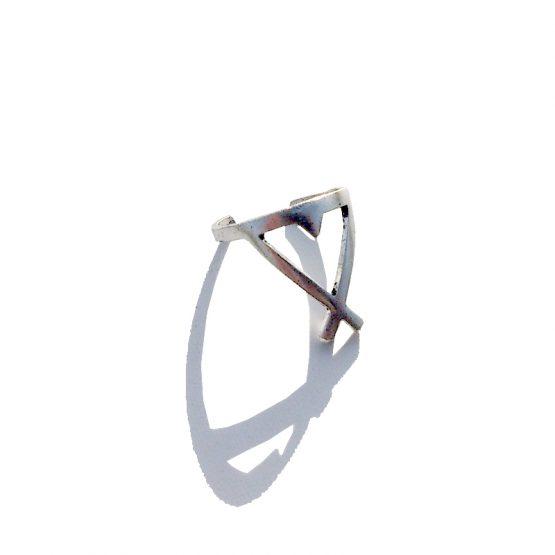 Boho Ring 2016 / versie 5 / bijoux / bohemian / zilver