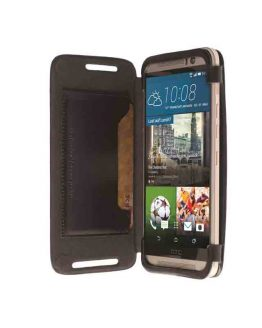 HTC One M9 Flipcase Kiruna Black / 76106 / HTC One M9 / zwart