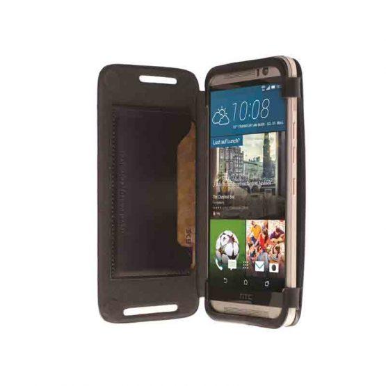 HTC One M9 Flipcase Kiruna Black / 76106 / HTC One M9 / zwart