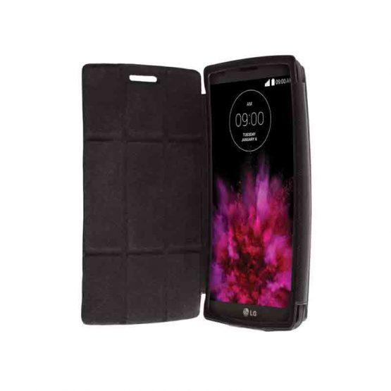 Krusell Malmo FlipCase LG G Flex2 Black / smartphone cover - telefoon hoesje / zwart - black