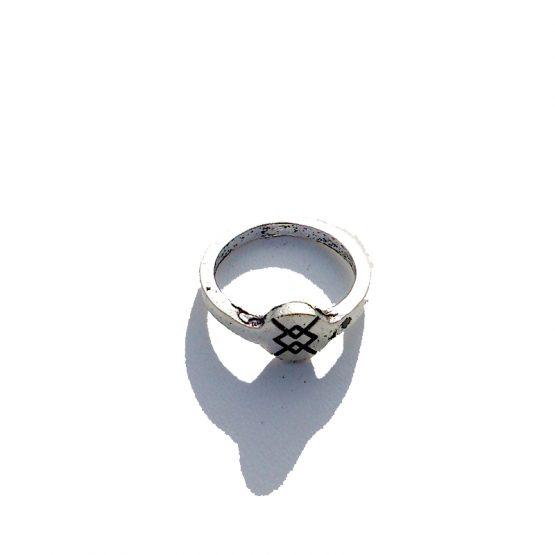 Boho Ring 2016 / versie 3 / bijoux / bohemian / zilver