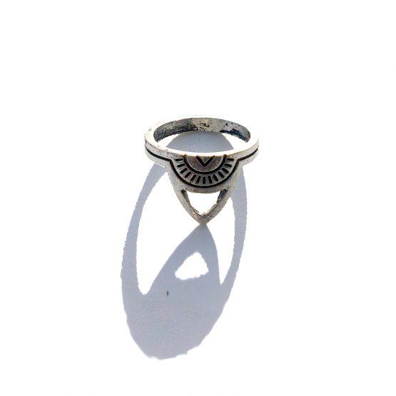 Boho Ring 2016 / versie 2 / bijoux / bohemian / zilver