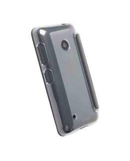 Krusell Boden FlipCover Lumia 530 Black / smartphone cover - telefoonhoesje / zwart - transparant
