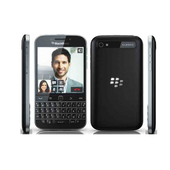 Malmo FlipCase for Blackberry Classic / Krusell / 76129 / black - zwart