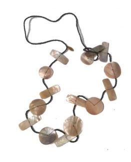Manouk c1102 / bijoux / wit-parelmoer