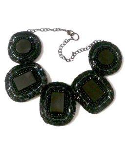 Manouk Statement Ketting 132-2 / bijoux / zwart