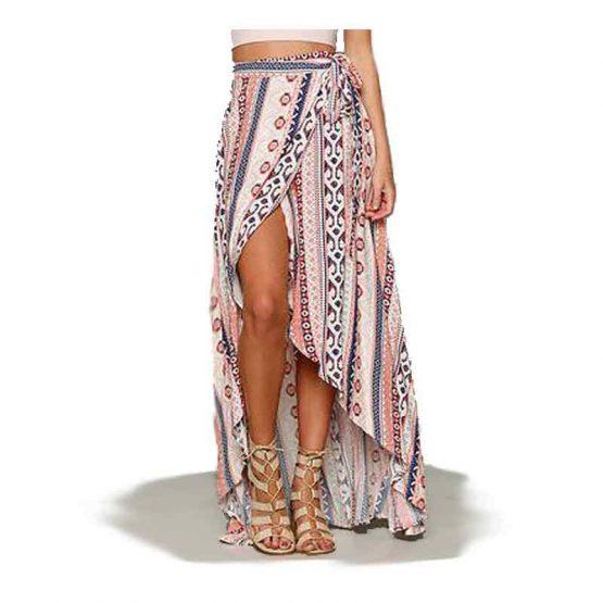 Wrap jurk Surfside / Kleding / chiffon / print