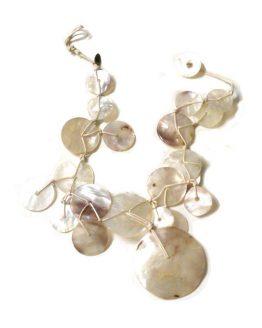 Manouk Caribbean Ketting k131-5 / bijoux / touw-parelmoer