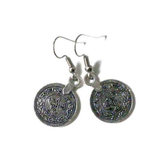 ketting & oorbellenset Lhasa / bijoux / set / zilver & strass