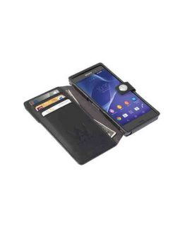 Krusell Drop Off Case Smartphone MfX Xperia Z3 / smartphone / grijs - zwart / walk-on-water-drop-off-case