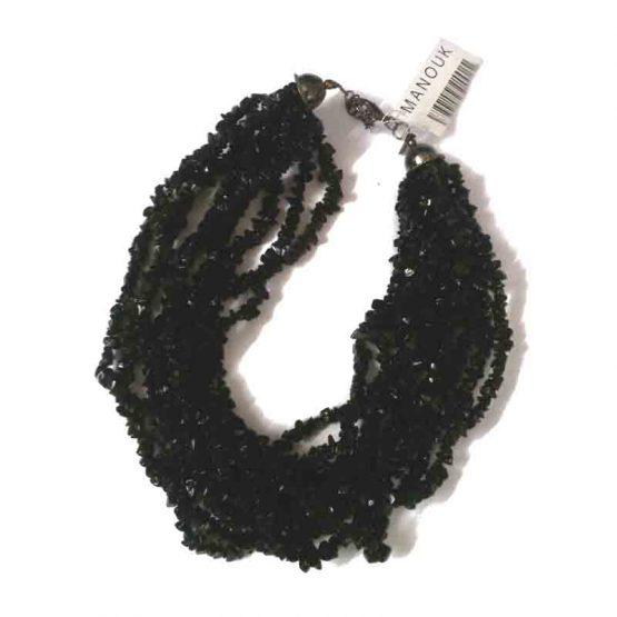 Manouk l020-zwart / opaalzwart / bijoux / zwart