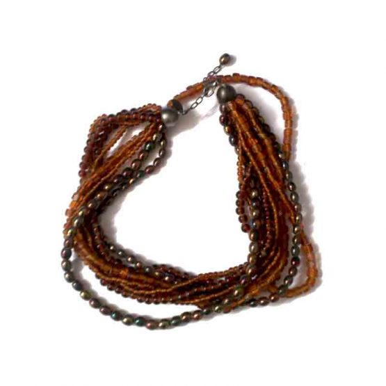Manouk ZZ999-01 Safiya Ketting / bijoux / meerkleurig