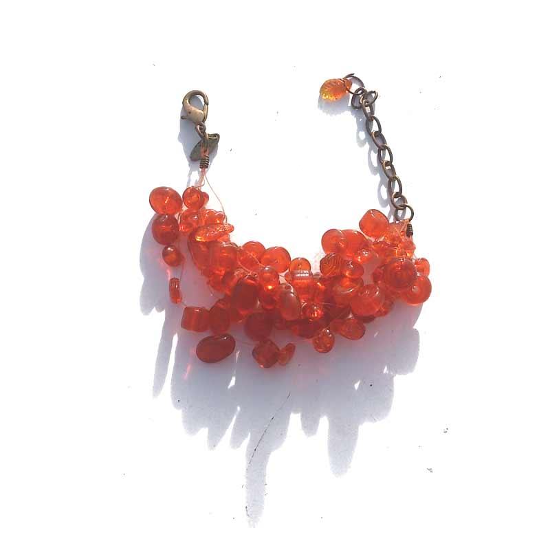 Manouk P089-4 / bijoux / Manouk / oranje