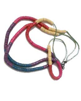 Manouk p109-1 Candy Ketting / bijoux / meerkleurig