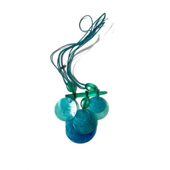 Manouk p162-2 Aquarius Ketting / bijoux / blauw