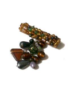 Manouk Broche r032-6a / bijoux / meerkleurig
