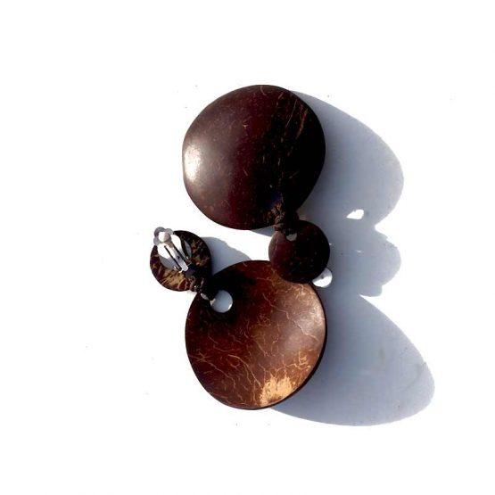 Manouk s162-4 / donker hout / bruin / clips