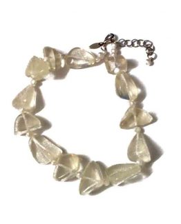 Ice Ketting Manouk s205-1 / bijoux / transparant - wit