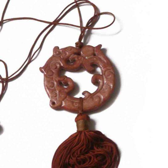 Manouk Zhenga Ketting v161-1 / bijoux / etnisch / bruin
