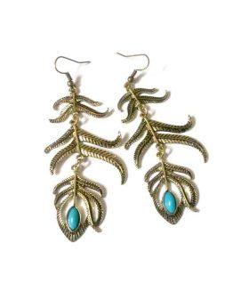Boho Branch / bijoux / bohemian / goud - turquoise