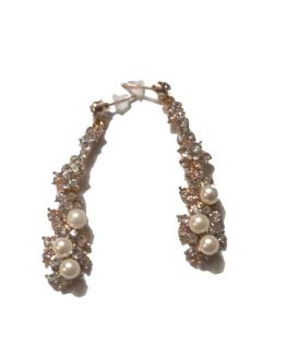 Xmas Gold / bijoux / strass-parel / goudkleurig