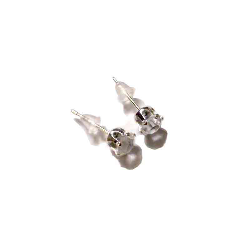 Oorknopjes Strass / bijoux / Zirkonia - Strass verzilverd / zilver