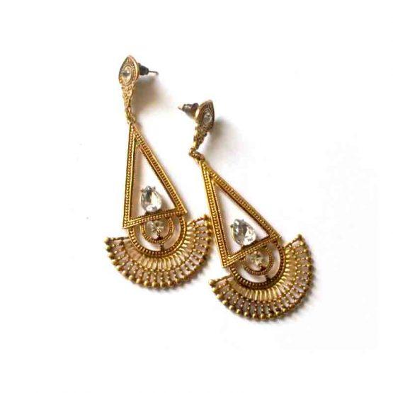Egyptian Stijl Oorbellen / bijoux ./ blin-bling / goud