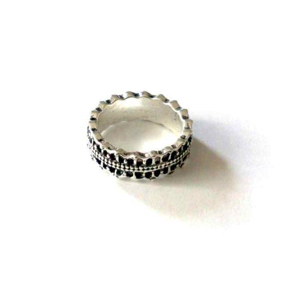 Boho Silver Ring / lente 2017 / bijoux / zilverkleurig / boho - bohemian / model4