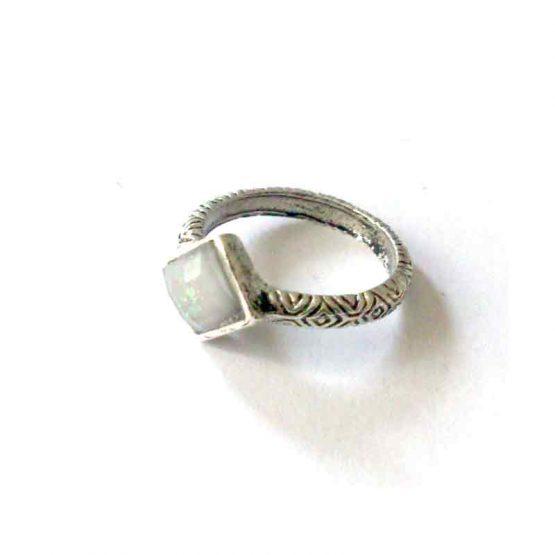 Boho Silver Ring / lente 2017 / bijoux / zilverkleurig / boho - bohemian / model7
