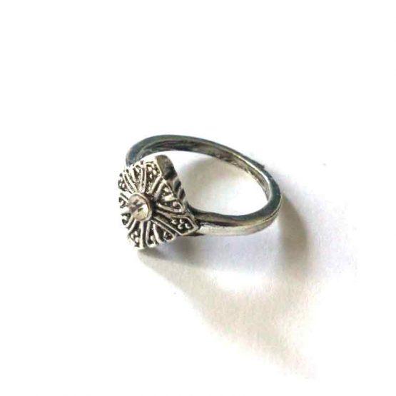 Boho Silver Ring / lente 2017 / bijoux / zilverkleurig / boho - bohemian / model9