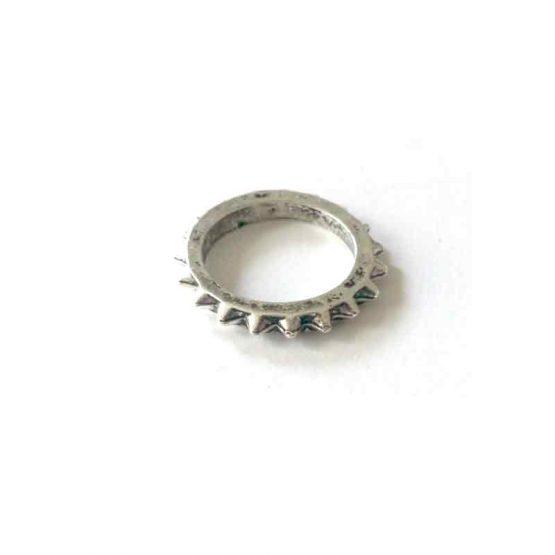 Boho Silver Ring / lente 2017 / bijoux / zilverkleurig / boho - bohemian / model10