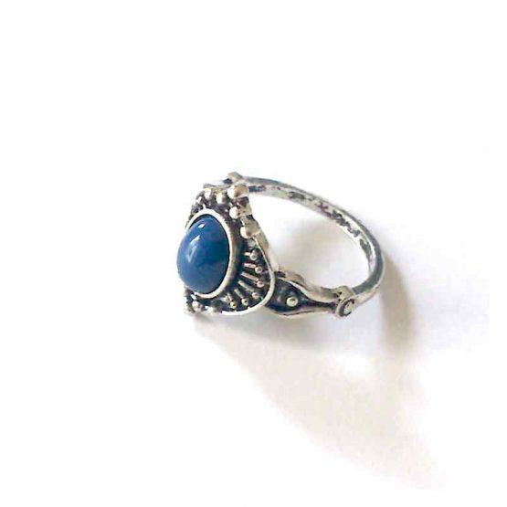 Boho Silver Ring / lente 2017 / bijoux / zilverkleurig / boho - bohemian / model12